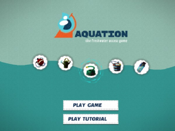 Aquation Title Screen