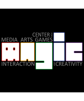 Rochester Institute of Technology Center for Media, Arts, Games, Interaction, and Creativity Logo